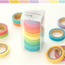 rainbow masking tape at Blisby