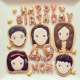Lovely Family Icing Cookies