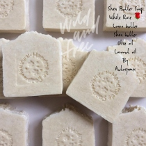 Shea butter soap White Rose at Blisby