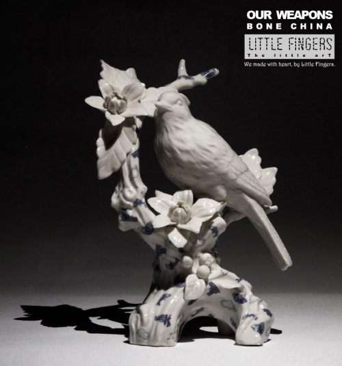 """""""Our weapons"""" ceramic sculpture large image 0 by LittleFingers"""