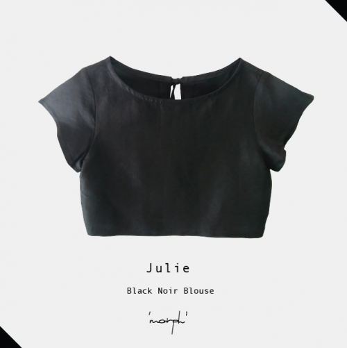 Black Noir Julie blouse large image 0 by morphandme