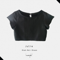 Black Noir Julie blouse at Blisby