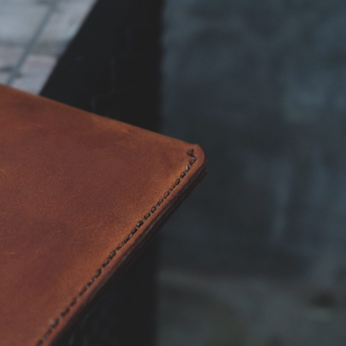 Leather A4 Folder / Clutch Bag large image 3 by TheGrizzlyLeather