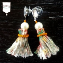 Gypsy Tassel Earring - Orange at Blisby
