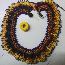 necklace colorful at Blisby