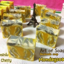 Natural Soap Recipe กลิ่น Cherry at Blisby