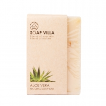 Soap Villa Natural Soap Bar - Aloe Vera 100g at Blisby