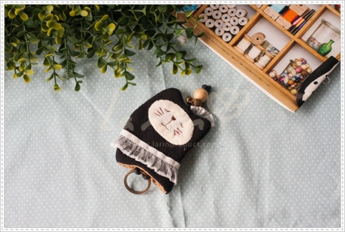 Key cover-Black catที่ครอบพวงกุญแจแมวเมี้ยว large image 1 by Larinproduct