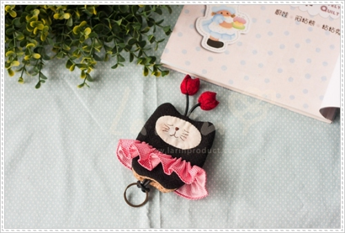 Key cover-Black catที่ครอบพวงกุญแจแมวเมี้ยว large image 3 by Larinproduct