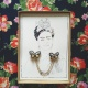 butterfly collar brooch(FRIDA KAHLO set)