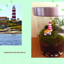 Sambro Island Lighthouse Terrarium at Blisby