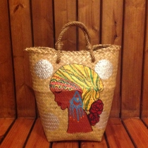 """Maya"" Basket Bag at Blisby"