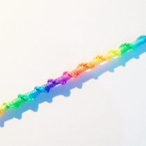 Rainbow bracelet  at Blisby