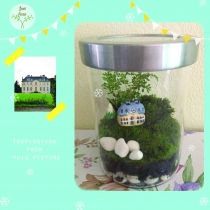 The castle Terrarium at Blisby