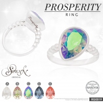 "แหวนคริสตัล Swarovski ""PROSPERITY RING"" at Blisby"