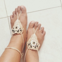 Barefoot sandals  at Blisby