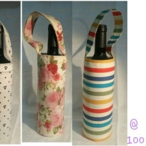 ถุงไวน์ wine bottle bag at Blisby