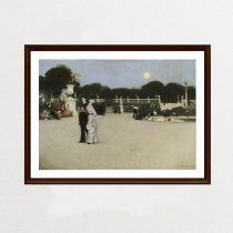 In the Luxembourg Gardens by John Singer Sargent (ภาพพิมพ์) at Blisby