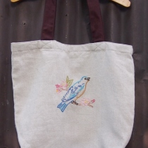 Linen Tote Bag at Blisby