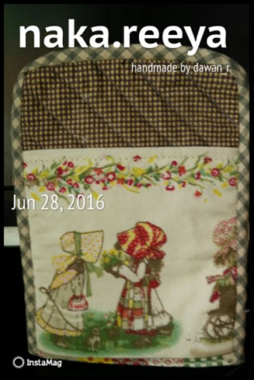 """phone case size4""""x6"""" thai pattern cotton large image 2 by FinsHandmade"""