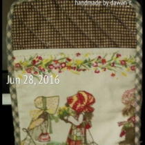 "phone case size4""x6"" thai pattern cotton at Blisby"