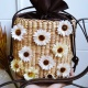 daisy hand made bag