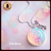 Wanderer necklace Glow in dark at Blisby