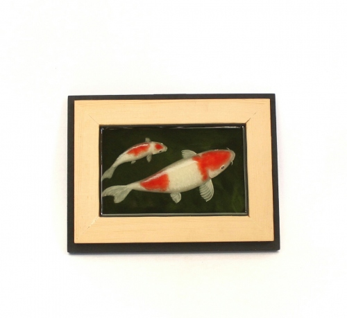 Koi fish painting in resin large image 0 by Piccolo