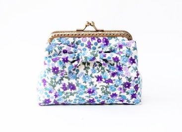 Card Holder / Floral Coin Purse กระเป๋าใส่บัตร  large image 0 by TunyTinyTreats