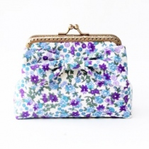 Card Holder / Floral Coin Purse กระเป๋าใส่บัตร  at Blisby