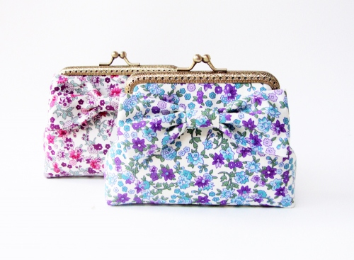 Card Holder / Floral Coin Purse กระเป๋าใส่บัตร  large image 1 by TunyTinyTreats
