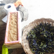 Butterfly Pea and Tamarind   Natural Soap  at Blisby