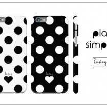 POLKADOT PLAIN AND SIMPLE เคสโทรศัพท์ at Blisby