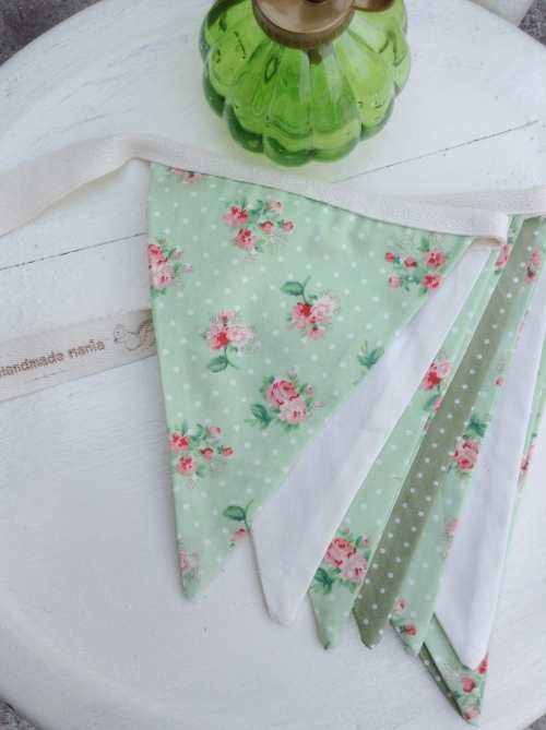 Flags Bunting {In garden /green} large image 0 by HandmadeMania