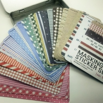 Masking Sticker box - Fabric set at Blisby