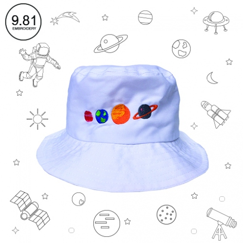 Planet hat large image 0 by 981embroidery