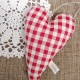 Heart Hanging {gingham}