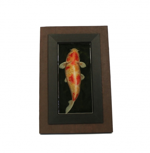 Koi fish painting in resin large image 1 by Piccolo