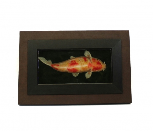 Koi fish painting in resin large image 2 by Piccolo