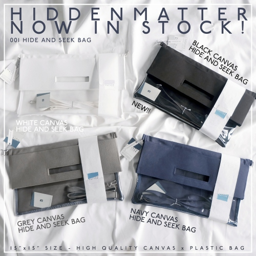 WHITE hide & seek bag  large image 2 by hiddenmatter