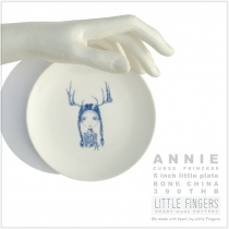 """Annie"" 6 inches plate at Blisby"