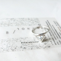 Triangle marble ring at Blisby