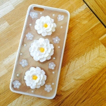 IPhone case pastel flower  at Blisby