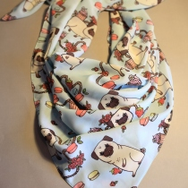 Cute pug scarf at Blisby