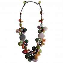ช่อมาลี (Chor-malee) Handmade Natural Stone Necklace at Blisby