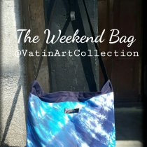 The Weekend Bag Navy Blue 01 at Blisby
