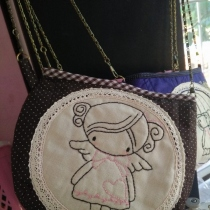handback size21x16 cm. thai pattern cotton at Blisby
