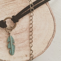 Feather Ring Choker at Blisby