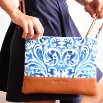 Clutch Bag - Wave at Blisby