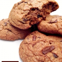 Chocolate Chip Chunky Cookies (1 กิโล) at Blisby